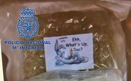 Desarticulado un grupo de narcotraficantes que enviaba marihuana al Reino Unido