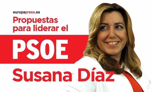 Programa primarias PSOE 2017 de Susana Díaz