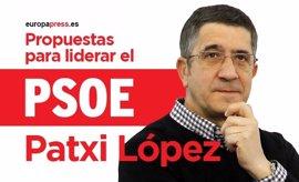 Consulta aquí el programa de Patxi López a las primarias del PSOE 2017