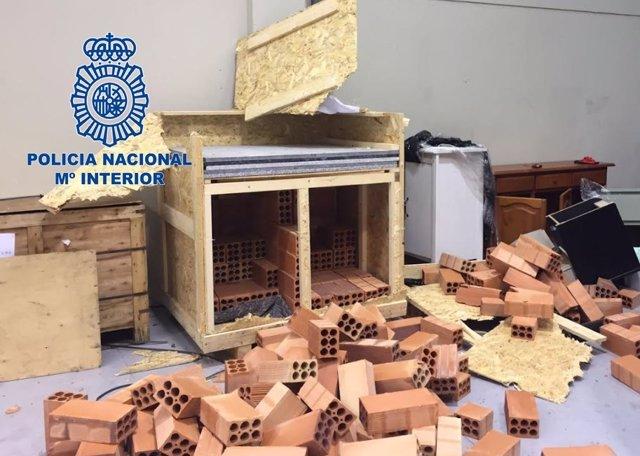 Nota De Prensa, Fotografías Y Vídeo: Desarticulado Un Grupo De Narcotraficantes