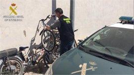 Cinco detenidos por robar bicicletas por encargo para enviarlas en ferry a Argelia