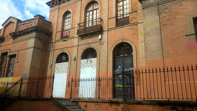 Antiguo colegio San Bernardo.