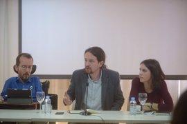 """Pablo Iglesias admite los """"enormes riesgos"""" de no ganar la moción de censura"""