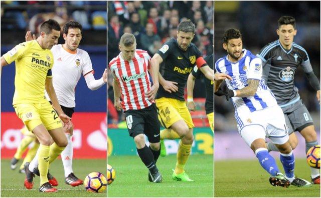 Villarreal Valencia Athletic Atlético Real Sociedad Celta última jornada