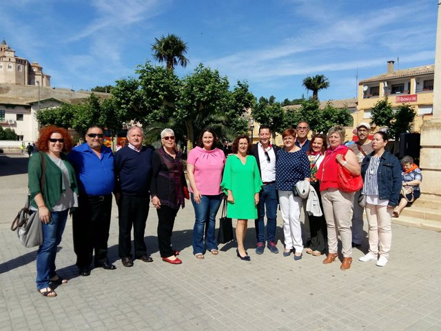 Broto asiste al XXXI Encuentro de Mujeres de la Provincia de Zaragoza.