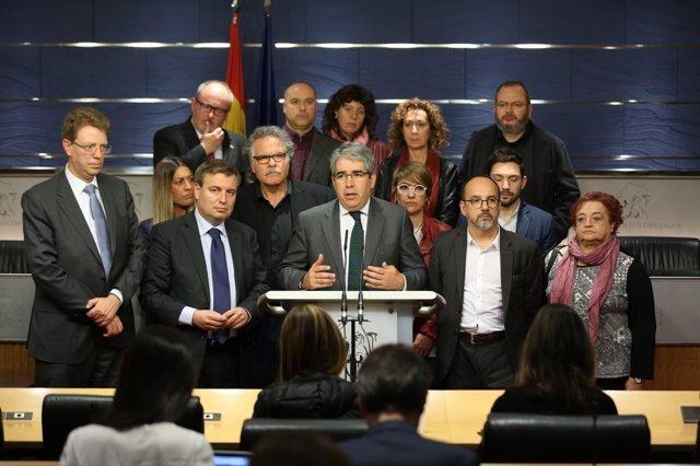 Homs comparece en el Congreso
