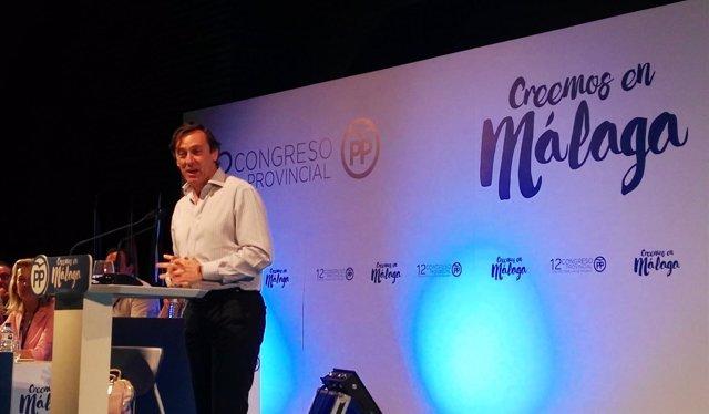 El portavoz del PP en el Congreso de los Diputados, Rafael Hernando
