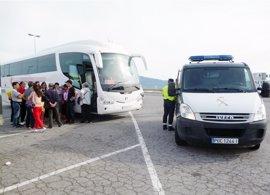 Detenido el conductor de un bus con 40 pasajeros a València que sextuplicaba la tasa de alcohol