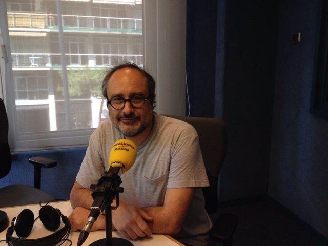 El portavoz de Súmate y exdiputado de la CUP, Antonio Baños.