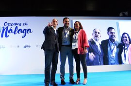 Elías Bendodo, reelegido por un 99,5% de los votos presidente del PP de Málaga