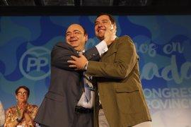 Sebastián Pérez, reelegido presidente del PP de Granada con un respaldo del 97,2% de votos