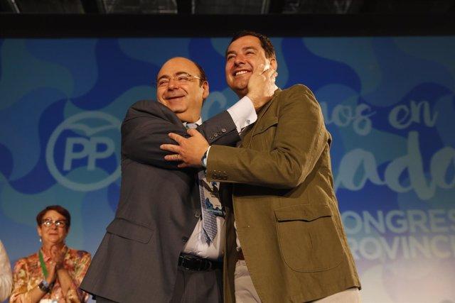 Sebastian Pérez y Juanma Moreno.