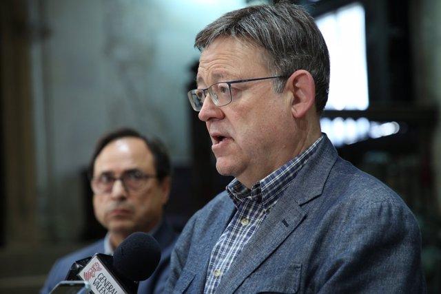 El 'president' ha anunciado la convocatoria junto al conseller de Hacienda