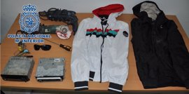 Detenidos dos jóvenes como presuntos autores de ocho robos en interior de vehículos en Cabra (Córdoba)