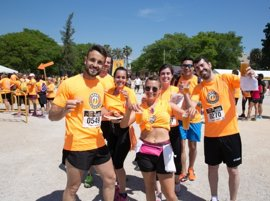 1.000 corredores maridan deporte con cerveza en la Beer Runners València