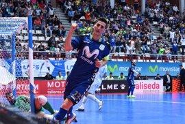 Movistar Inter apabulla a Catgas Energía y fuerza el tercer partido