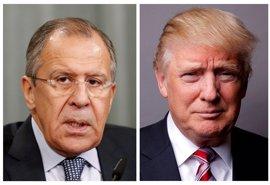 Lavrov niega categóricamente que Trump discutiera con Rusia el cese del director del FBI