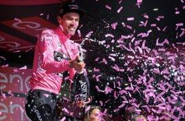 Dumoulin también gana en finales en alto y mantiene la 'maglia' rosa