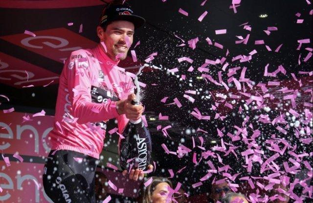 El Ciclista Holandés Tom Dumoulin (Sunweb)