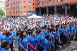 Cerca de 5.000 personas participan en Bilbao en una nueva edición de Musikaldia