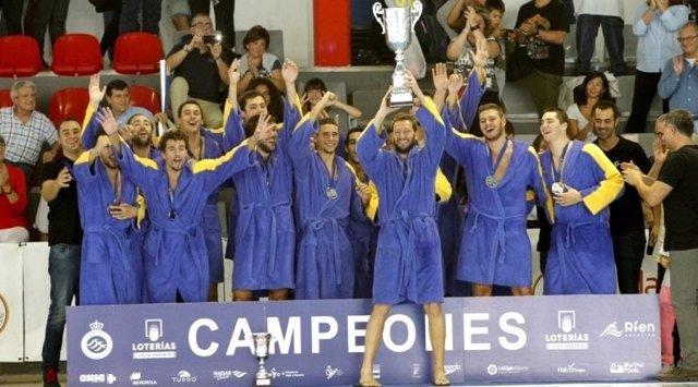 Atlètic-Barceloneta campeón Liga waterpolo