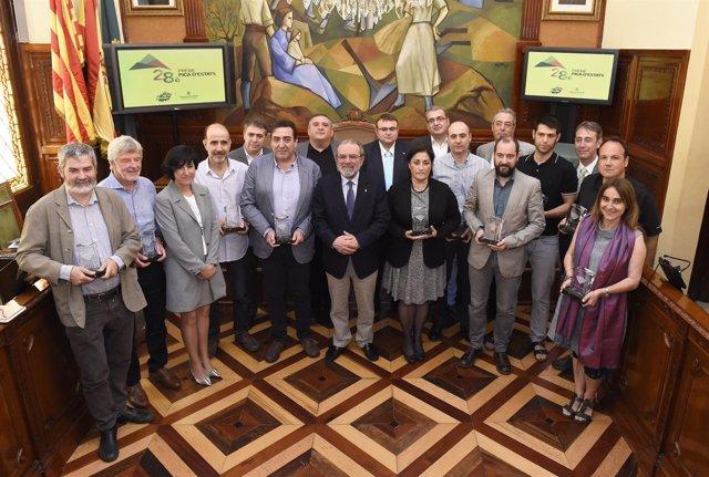 Entrega 28 premio turístico internacional 'Pica d'Estats'