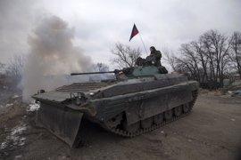 Las fuerzas separatistas denuncian la muerte de tres milicianos en un bombardeo del Ejército ucraniano