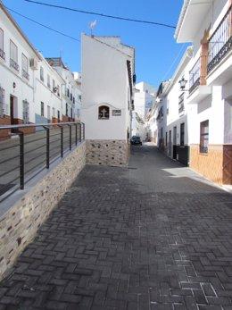 Obras realizadas en municipios de Málaga