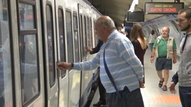Restablecido el servicio en Metro entre las estaciones de Estadio Olímpico y Las Musas tras 6 horas interrumpido