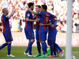 El Barça-Eibar se 'juega' en La Rosaleda
