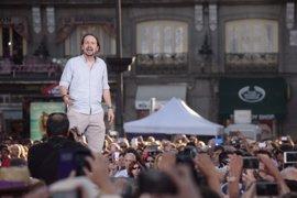 """Iglesias llama a sacar del Congreso a los """"corruptos sin escrúpulos"""" y carga contra los """"traidores"""""""