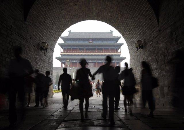 Plaza Tiananmen En Pekín