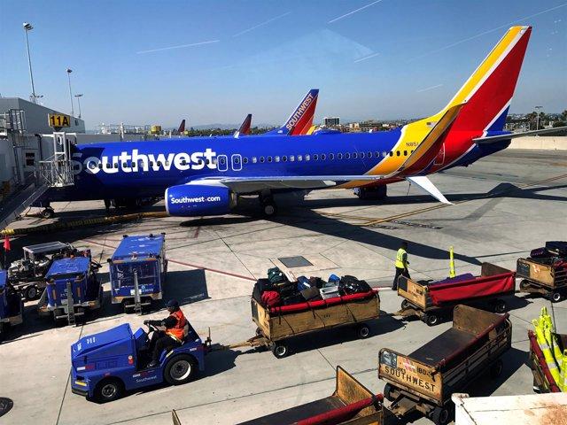 Aeropuerto Internacional de Los Ángeles, EEUU.