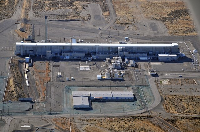 La planta nuclear de Hanford, en el estado de Washington.