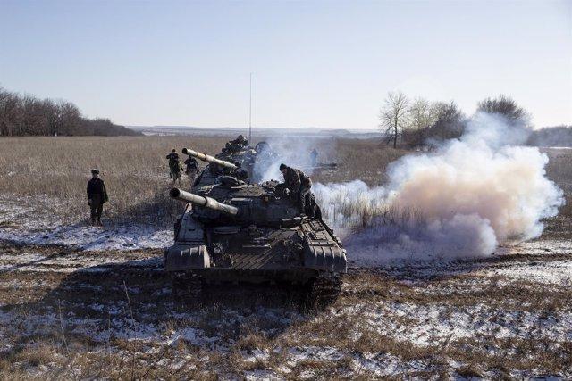 Los prorrusos de Donetsk