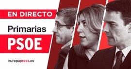 Primarias PSOE 2017 | Directo: Armengol advierte que la unidad del PSOE no depende solo de Sánchez