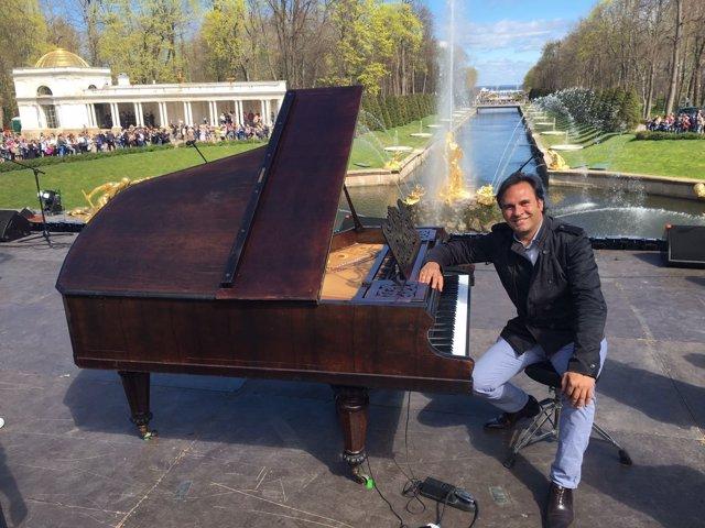 El pianista gaditano Manolo Carrasco