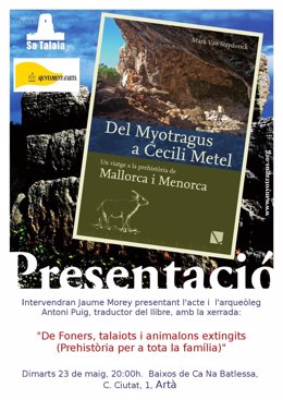 Presentación libro sobre prehistoria de Mallorca y Menorca