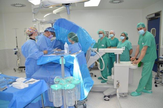 Cirujanos del Hospital de Talarrubias