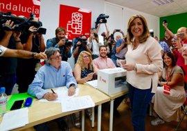 """Susana Díaz llama a la participación para """"levantar"""" el PSOE y abrir un """"tiempo de unidad"""""""