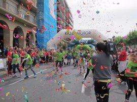 Alrededor de 3.000 personas participan en la III Carrera de la Familia, con los niños de FARO como protagonistas