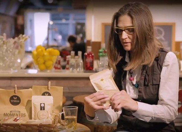 Patricia Pólvora, CEO y cofundadora de la empresa de tés gourmet Teterum
