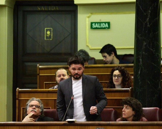 Gabriel Rufián, diputado de Esquerra