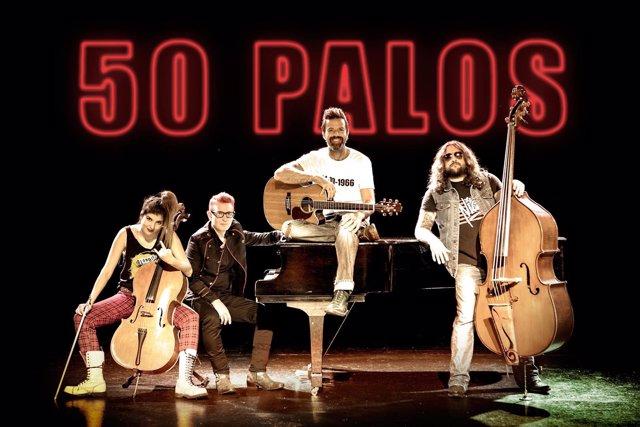 Jarabe de Palo actúa el 25 de mayo en Gijón