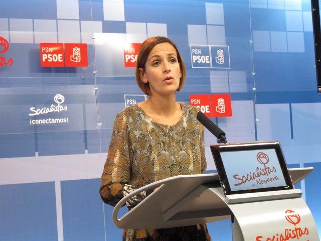 María Chivite.