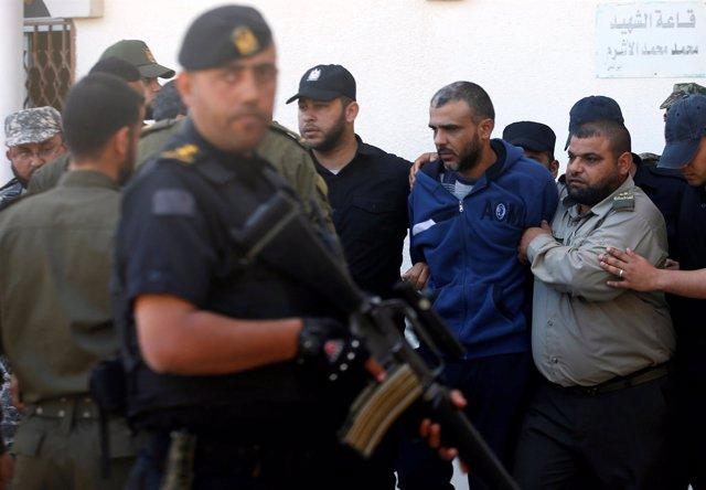 Uno de los presuntos asesinos del comandante de Hamás Mazen Fuqaha