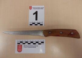 Dos detenidos en Zizur por una pelea con arma blanca