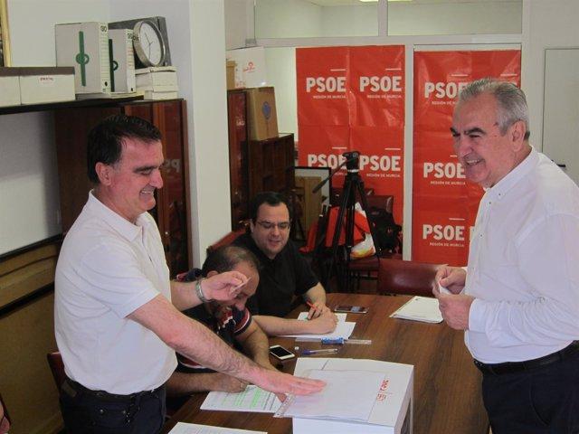 El secretario general del PSRM, Rafael González Tovar