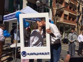 """Albiol (PP) tacha a Puigdemont de """"cobarde"""" por no querer ir al Congreso de los Diputados"""