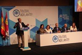 Gregorio, elegido nuevo presidente provincial del PP en Toledo con el 96,82% de los votos